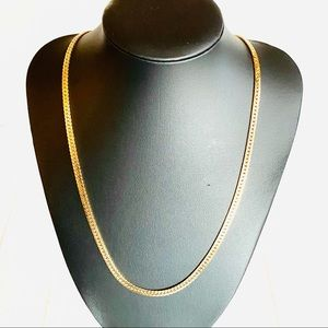 Jewelry - 14K GOLD FILLED HERRINGBONE CHAIN NECKLACE 20""